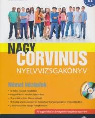 Nagy Corvinus Nyelvvizsgakönyv Német Középfok B2 + MP3 Audio CD