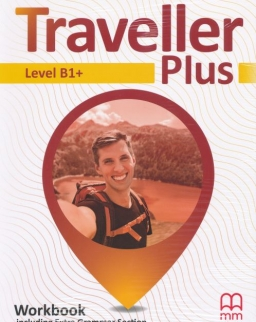 Traveller Plus Level B1+ Workbook with CD
