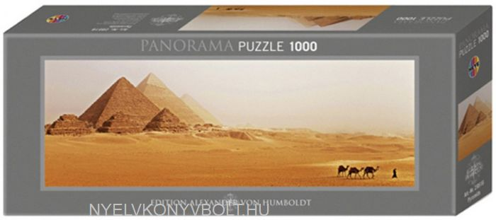 Heye Panorama Puzzle 1000 - Pyramids