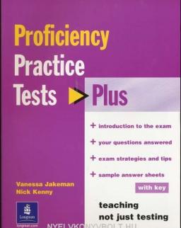 Proficiency Practice Tests Plus with Key