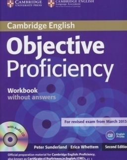 Objective Proficiency 2nd Edition Workbook without Answers with audio CD