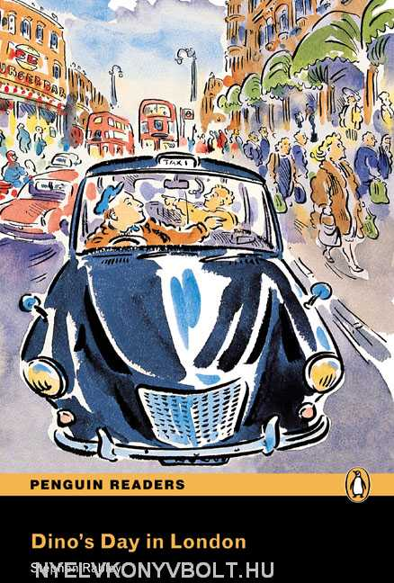 Dino's Day in London with Audio CD - Penguin Readers Easystarts