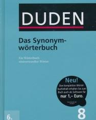 Das Synonymwörterbuch (6. Auflage) - Der Duden in 12 Bänden/Band 8