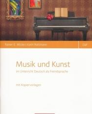 Musik und Kunst im Unterricht Deutsch als Fremdsprache mit Kopiervorlagen