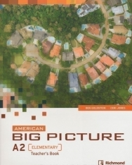American Big Picture Elementary Teacher's Book with Class Audio Cds
