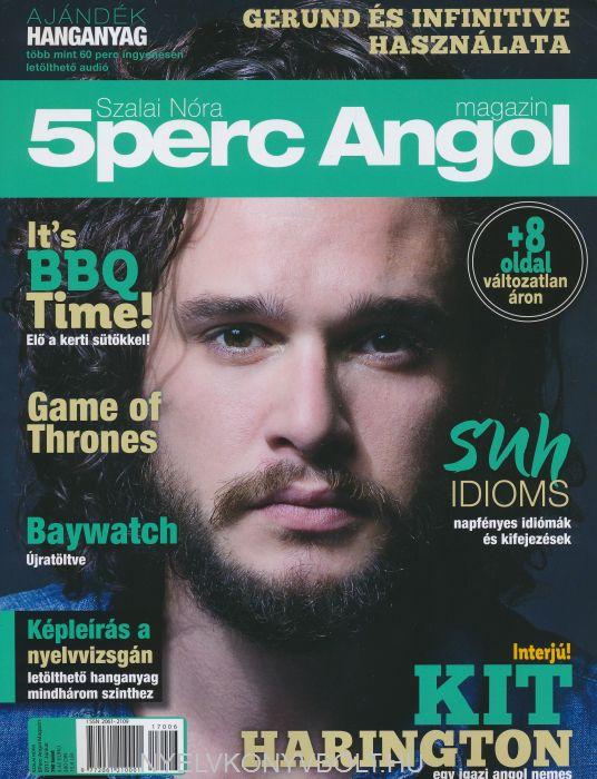 Öt Perc Angol Magazin 2017 Június