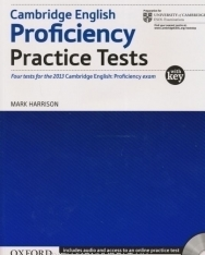 Cambridge English Proficiency Practice Tests with Key - Includes audio and acces to online practice test
