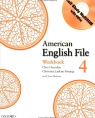 American English File 4 Workbook with Self-Study MultiROM