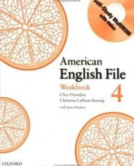 American English File 4 Workbook with Self-Study MultiROM