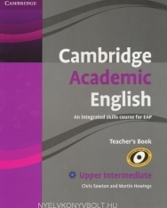 Cambridge Academic English Upper Intermediate Teacher's Book