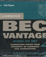 Cambridge BEC Vantage 2 Official Examination Past Papers Audio CD