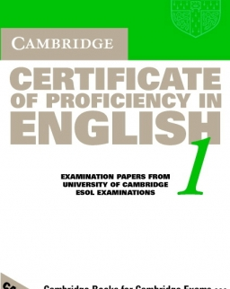 Cambridge Certificate of Proficiency in English 1 Official Examination Past Papers Audio Cassettes (2)
