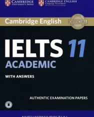Cambridge IELTS 11 Academic Official Examination Authentic Papers Student's Book with Answers with Audio