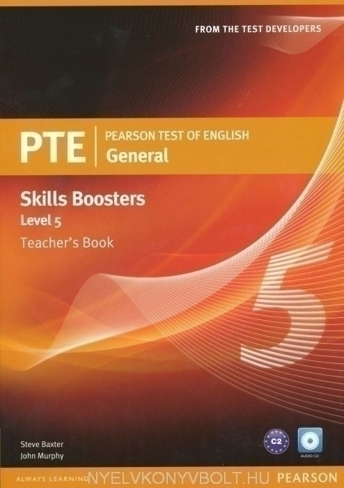 PTE General Skills Boosters 5 Teacher's Book with Audio CD
