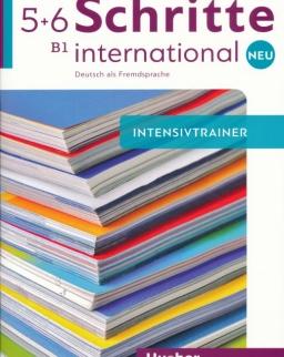 Schritte international Neu 5+6 Intensivtrainer mit Audio-CD
