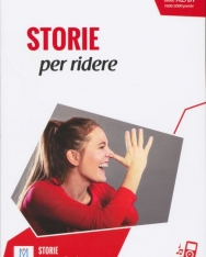 Storie per ridere + Audio On Line - Letture Italiano Facile Livello A2/B1 1500/2000 Parole - Nuova edizione