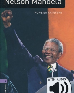 Nelson Mandela Factfiles with Audio Download - Oxford Bookworms Library Level 4