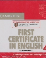 Cambridge First Certificate In English 4 Official Examination Past Papers Audio CDs 2 For