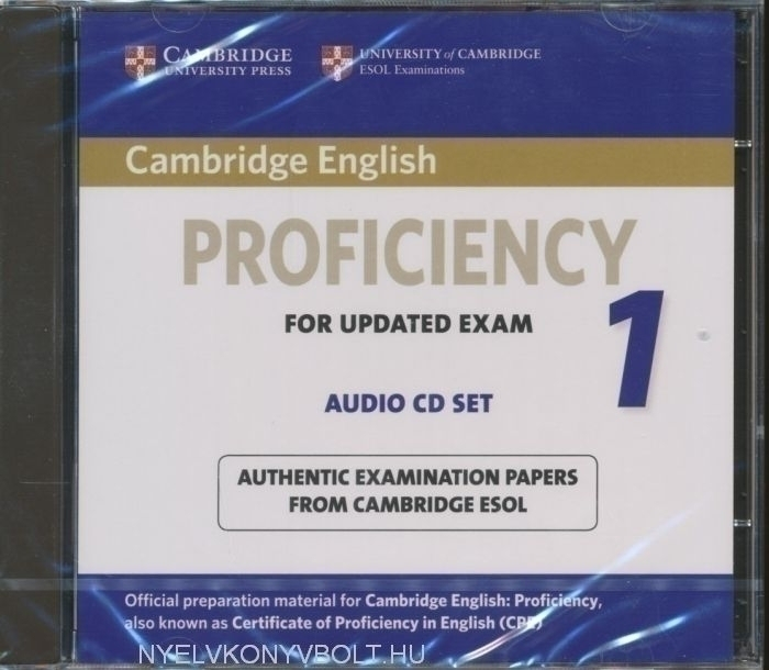 Cambridge English Proficiency 1 for Updated Exam Audio CDs (2)