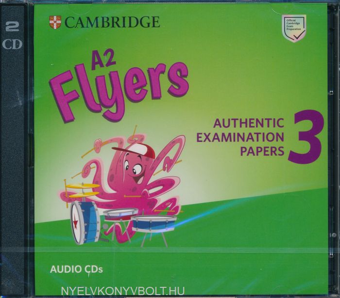 Cambridge English Flyers 3 Class Audio CDs for Revised Exam From 2018