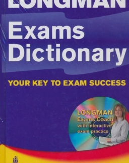 Longman Exams Dictionary Hardcover with Exams Coach CD-ROM with Interactive Exam Practice