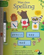 Wipe-Clean Spelling (Usborne Key Skills) Age 6 to 7