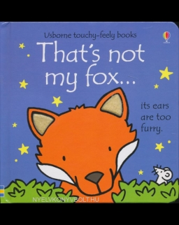 Usborne Touchy-Feely Books - That's Not My Fox