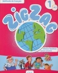 ZigZag 1 Méthode de francais Livre de l'éleve + CD Audio A1.1