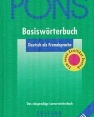 PONS Basiswörterbuch Deutsch