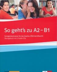 So geht's zu A2-B1 Übungsbuch+ 2 Audio-CDs