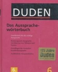 Das Aussprachewörterbuch (6. Auflage) - Der Duden in 12 Bänden/Band 6