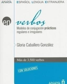 Verbos - Modelos de conjugación prácticos regulares e irregulares Más de 3500 verbos con soluciones