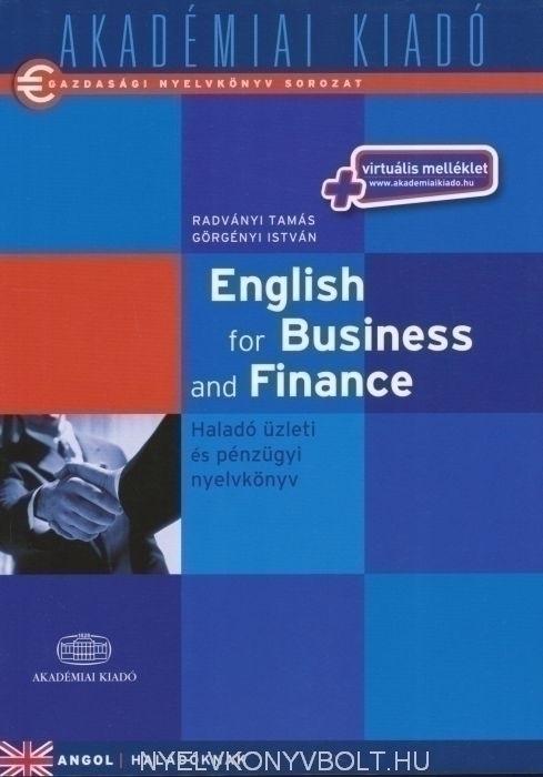 English for Business and Finance - Haladó üzleti és pénzügyi nyelvkönyv virtuális melléklettel