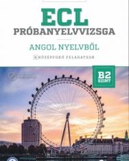 ECL Próbanyelvvizsga Angol Nyelvből B2 - 8 Középfokú Feladatsor + CD