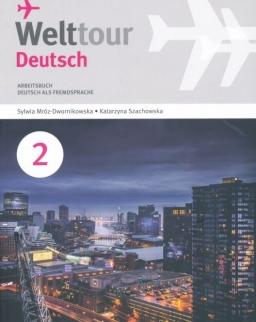 Welttour Deutsch 2 Arbeitsbuch mit Audio Cd