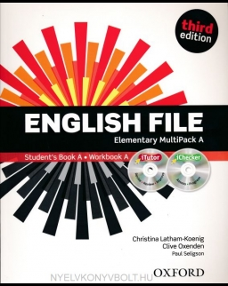 English File - 3rd Edition - Elementary Multipack A with iTutor DVD-Rom
