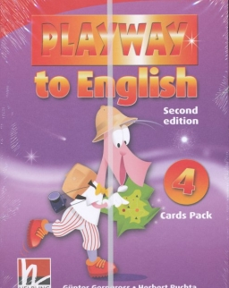 Playway to English - 2nd Edition - 4 Cards Pack
