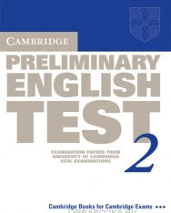 Cambridge Preliminary English Test 2 Official Examination Past Papers 2nd Edition Student's Book