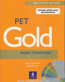 PET Gold Exam Maximiser Self-Study Edition with CD