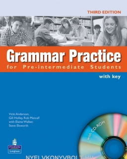 Grammar Practice for Pre-Intermediate Students with Key and CD-ROM