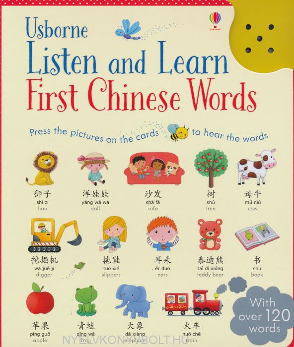 Listen and Learn First Chinese Words (Listen & Learn)