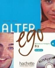 Alter ego 4 - Méthode de Francais niveau B2 Livre de l'éleve avec CD audio