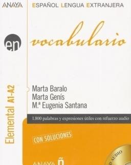 En vocabulario Elemental A1-A2 con Audio CD