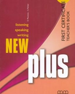 New Plus First Certificate Teacher's Book
