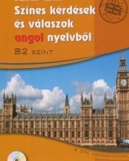 Színes kérdések és válaszok angol nyelvből B2 szint MP3 CD-vel