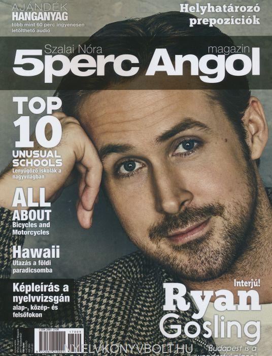 Öt Perc Angol Magazin 2017 Szeptember
