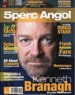 5 Perc Angol Magazin 2020 Szeptember