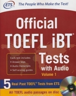Official TOEFL IBT Tests with Audio - Volume 1
