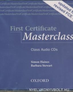First Certificate Masterclass 2008 Edition Class Audio CDs