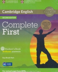 Complete First Student's Book without answer & CD-ROM & Class Audio CDs Second Edition